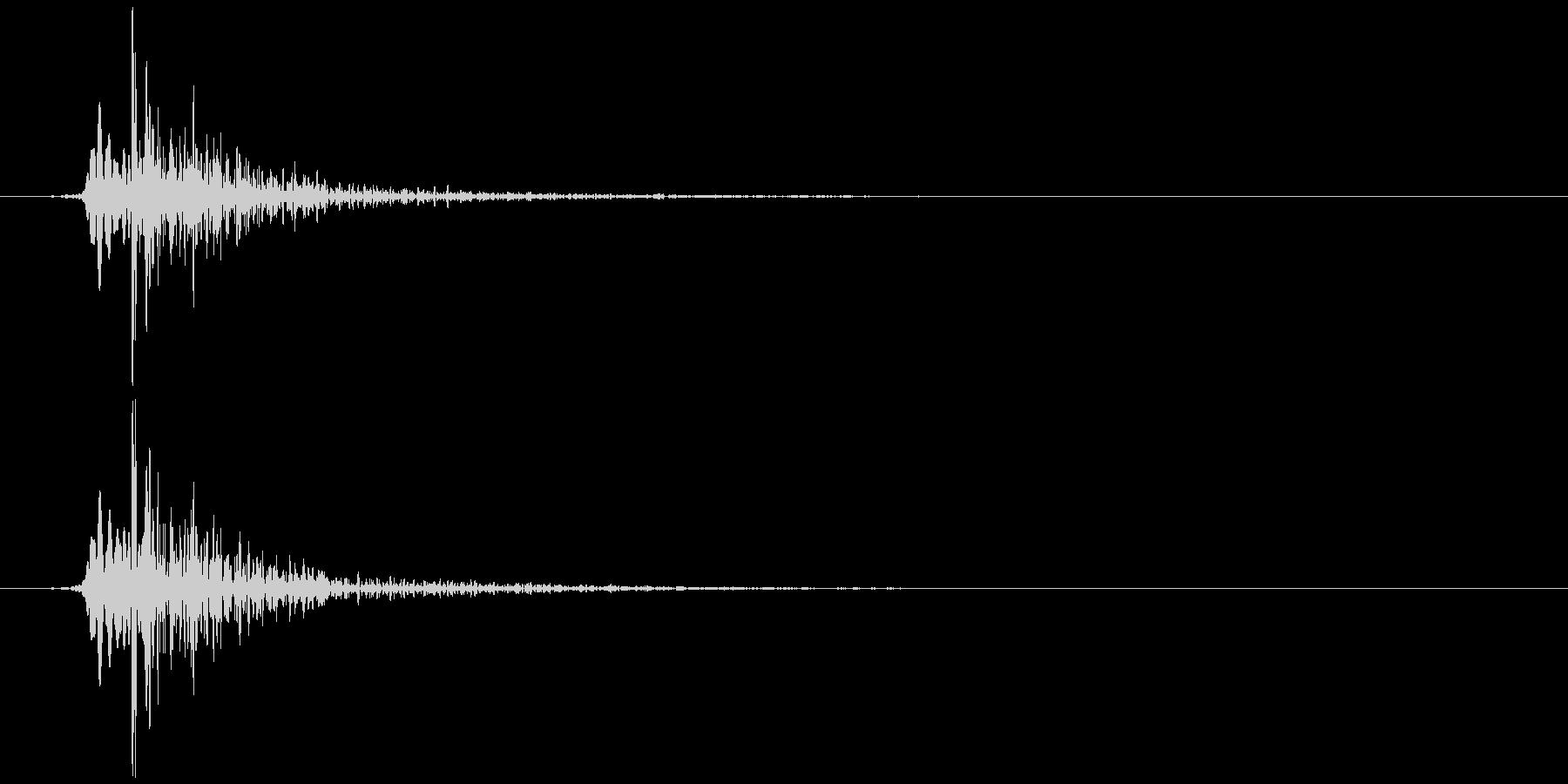 鍋のふた開くOR閉める B (カタッ)の未再生の波形