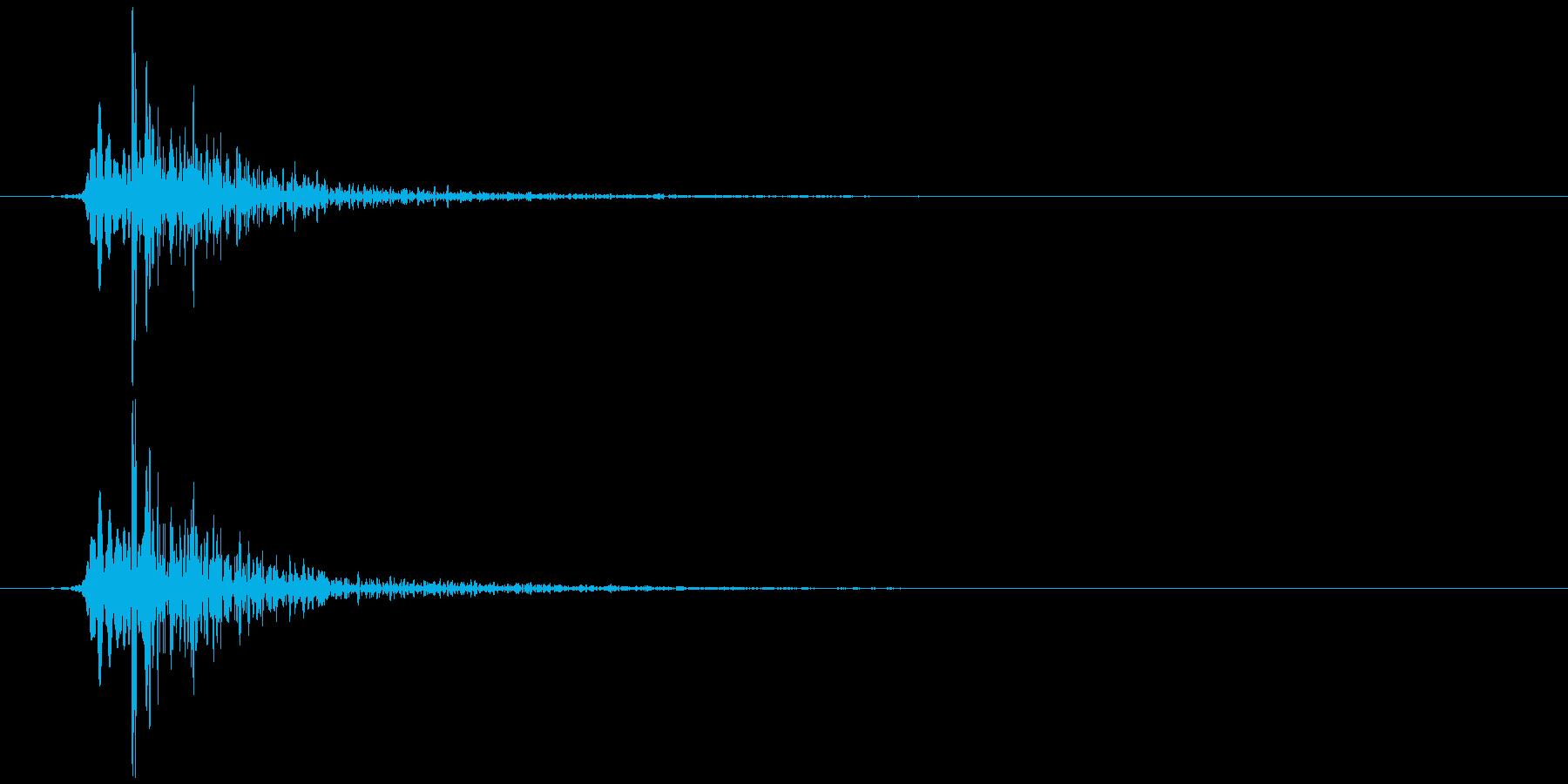 鍋のふた開くOR閉める B (カタッ)の再生済みの波形