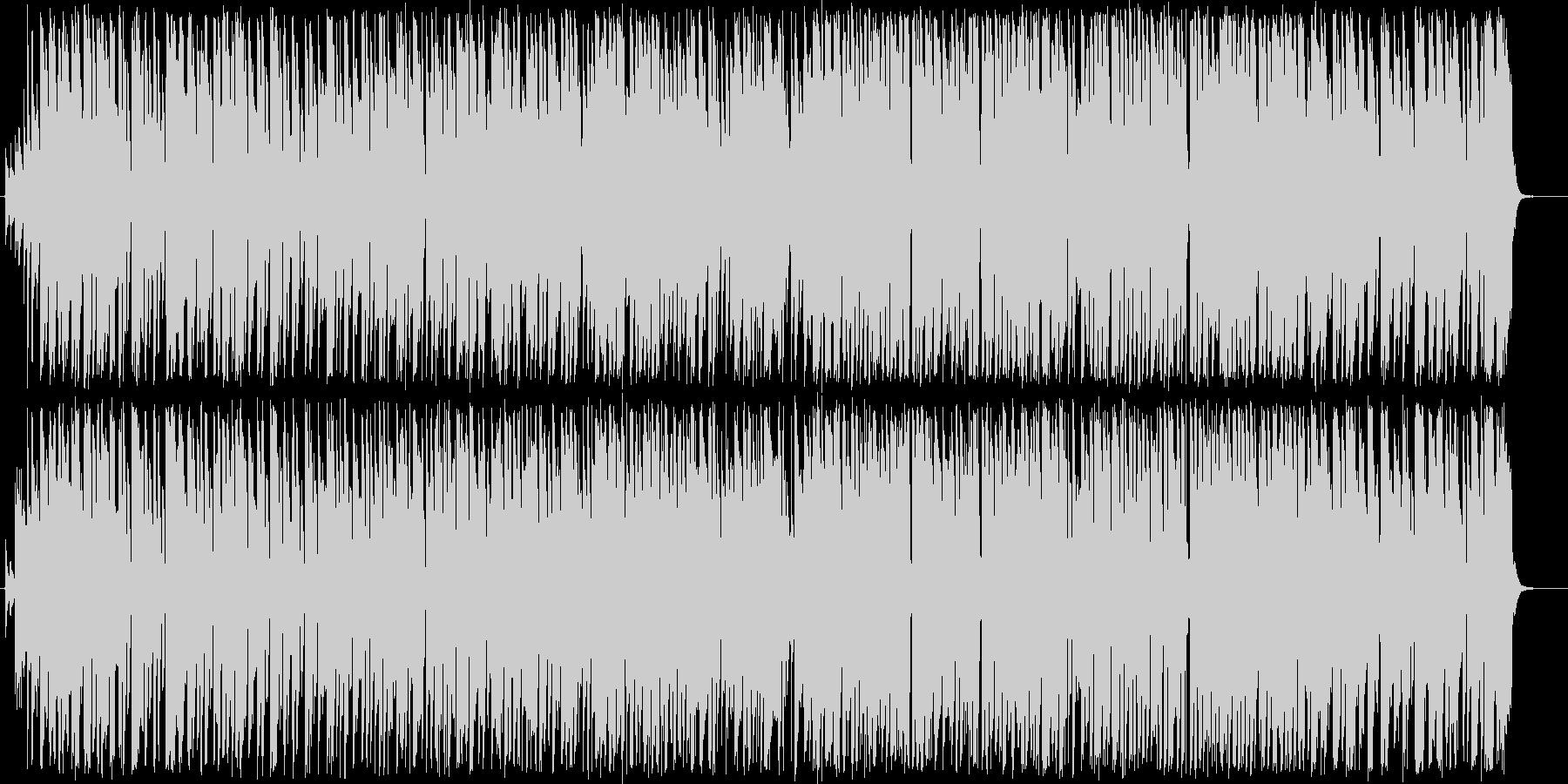 テケテケ風エレキギターインストの未再生の波形