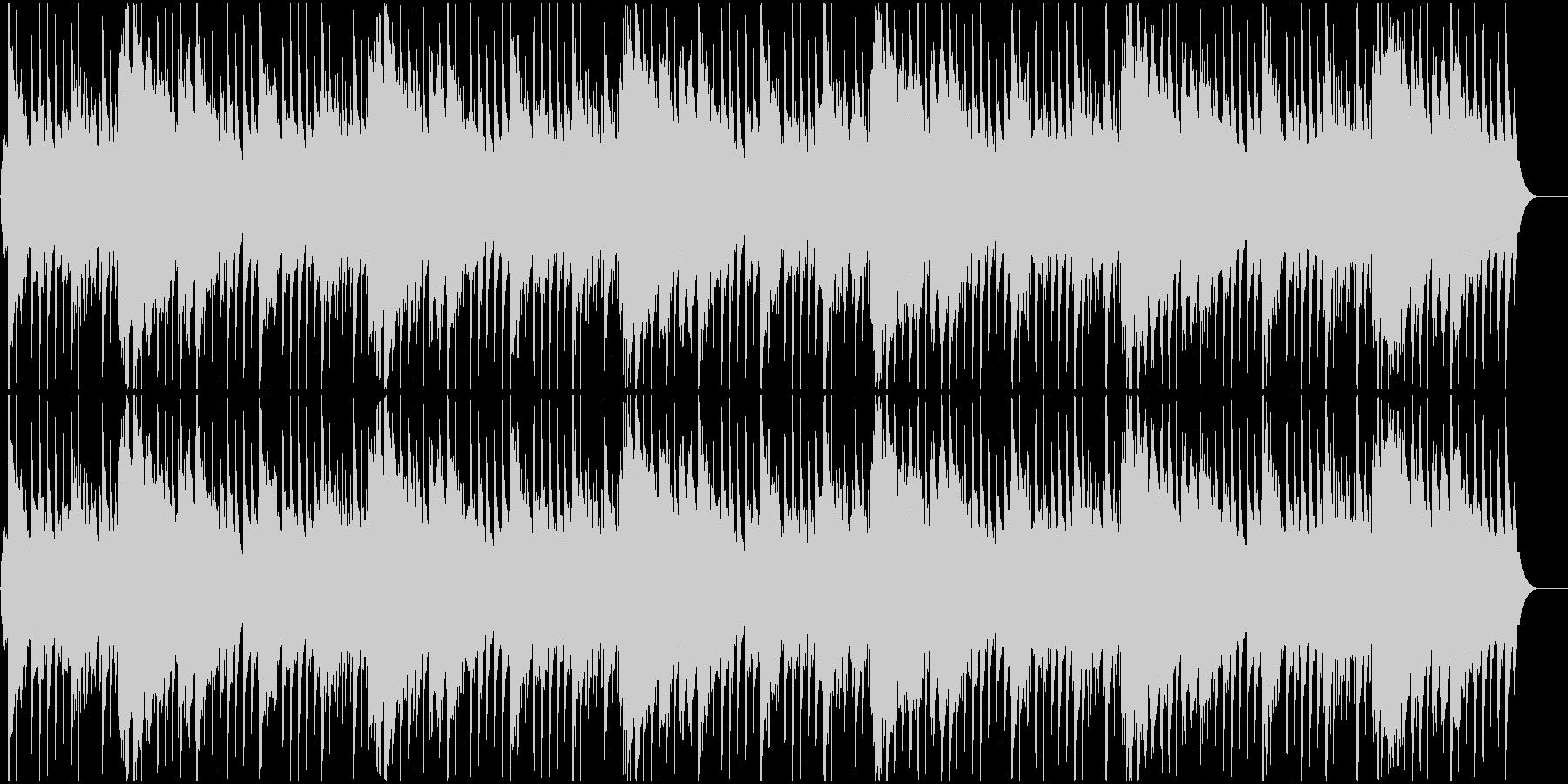 ハワイ風リゾートBGMの未再生の波形