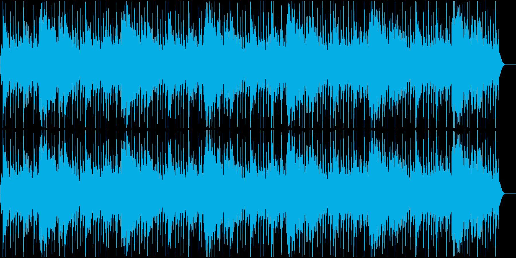 ハワイ風リゾートBGMの再生済みの波形