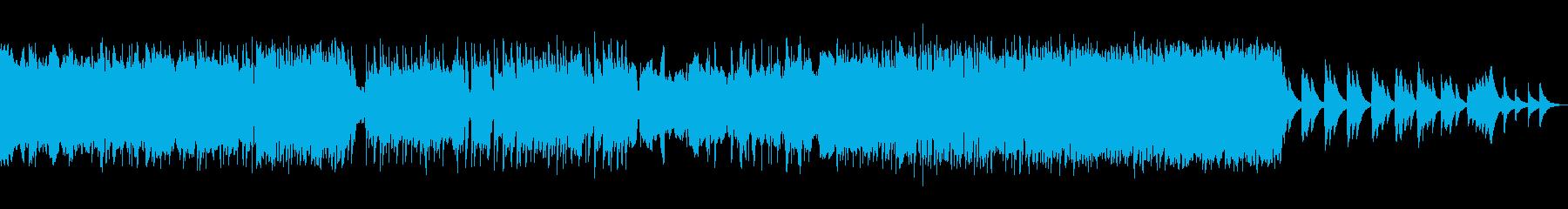 水たまりをびしゃびしゃしに行こうの再生済みの波形