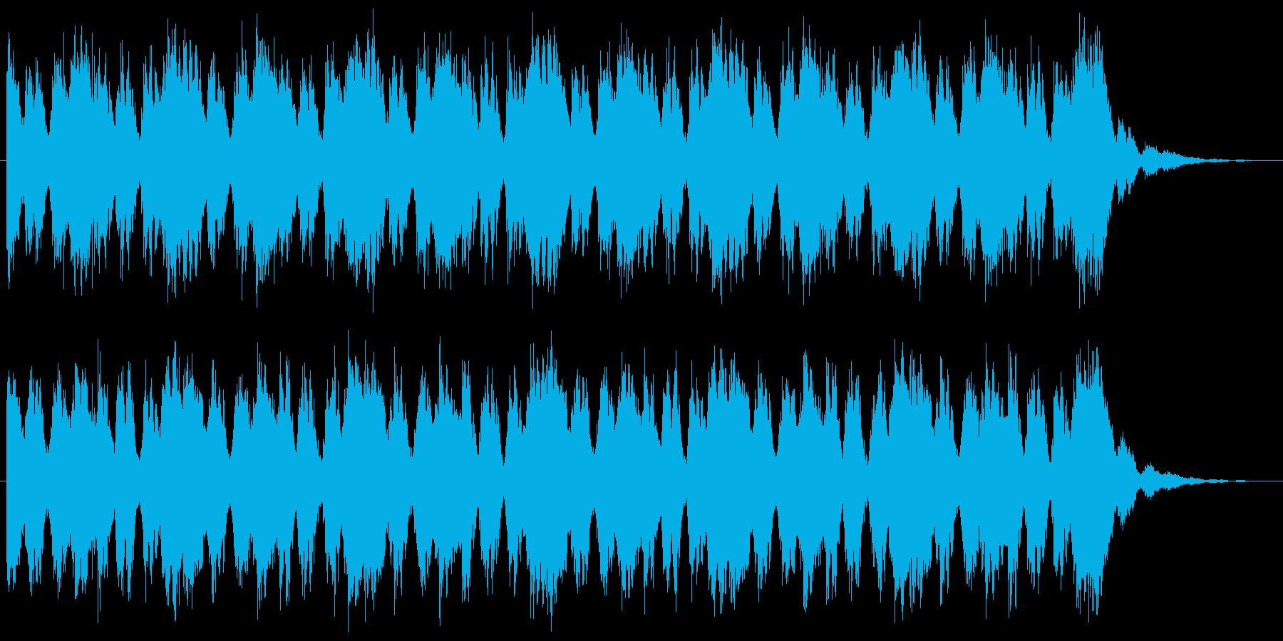 オーケストラによるループ曲。ゲームなどの再生済みの波形