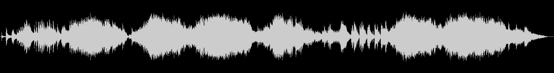 オルゴールの音色が不思議でかわいい楽曲の未再生の波形