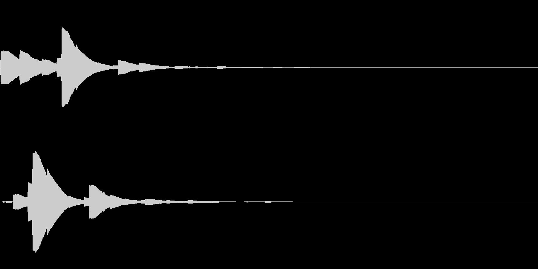システム音19_シンセDZの未再生の波形