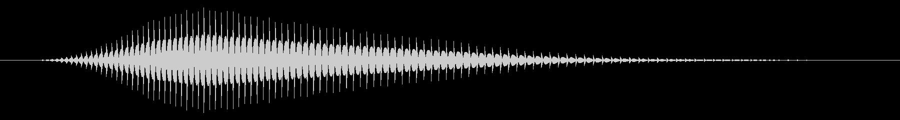 パソコン/キャンセル音/ヒュン↓の未再生の波形