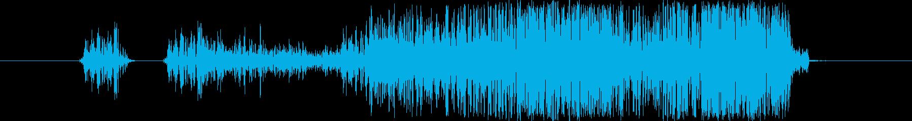 キャンセル/スワイプ/ウインドウ閉じる1の再生済みの波形