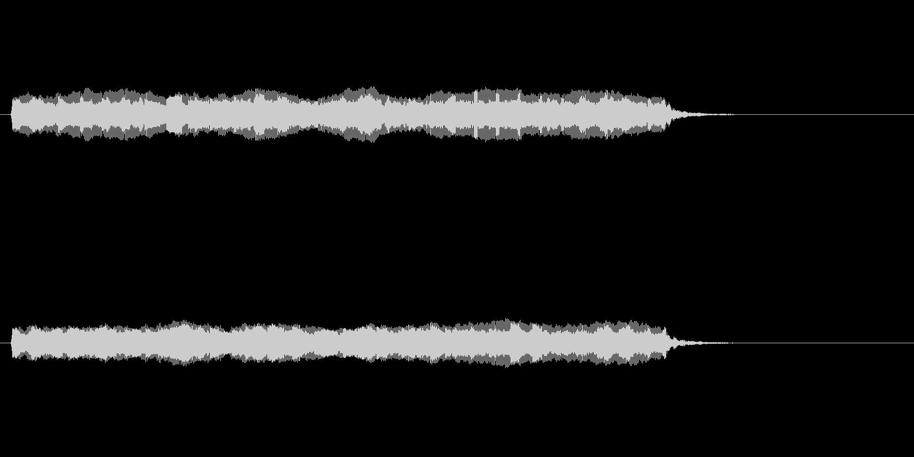 【開演ブザー01-3】の未再生の波形