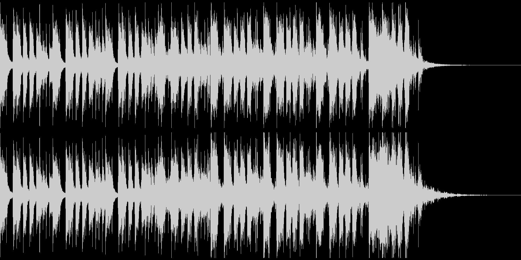 かっこいいロックギターイントロverBの未再生の波形