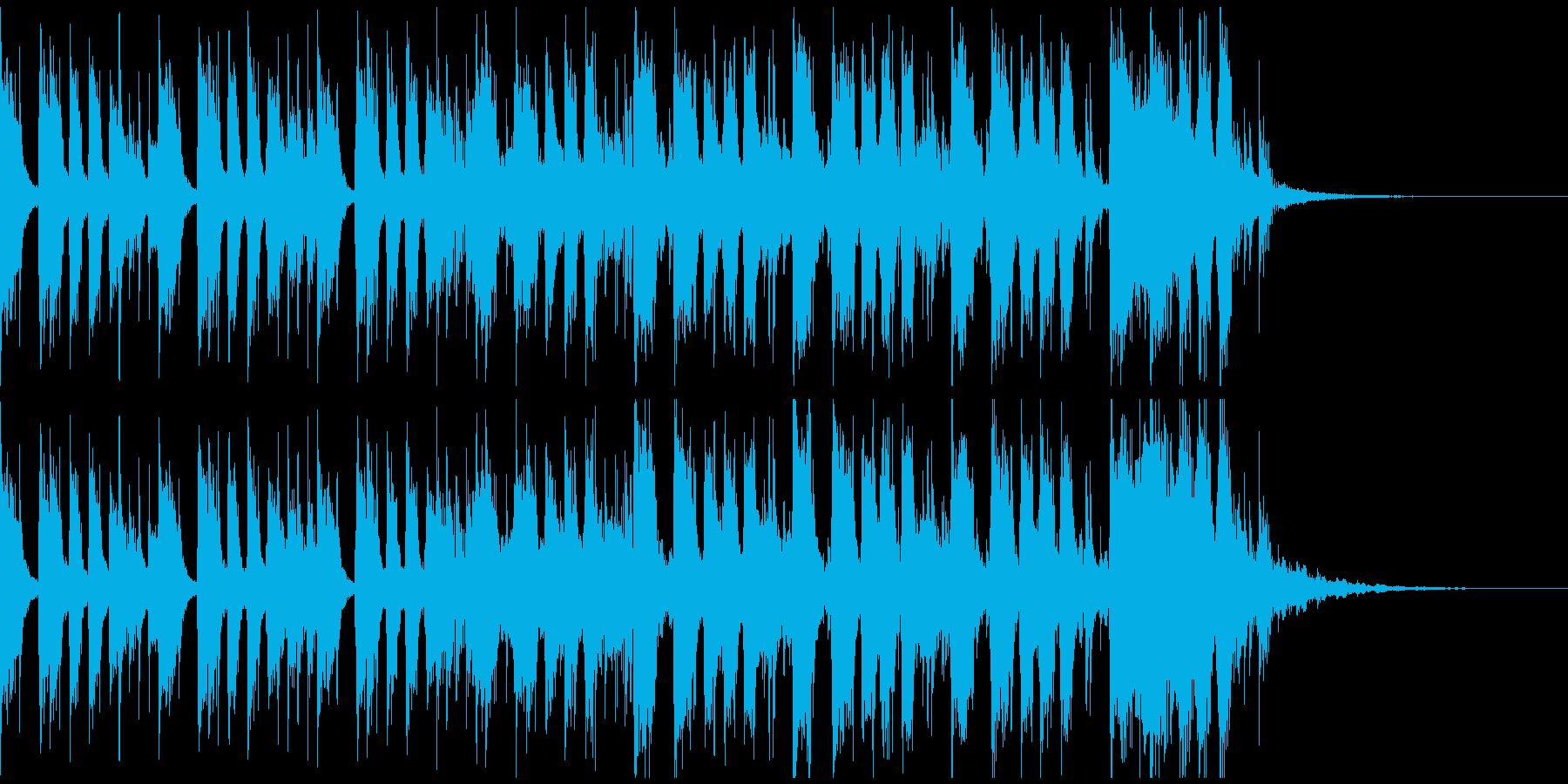 かっこいいロックギターイントロverBの再生済みの波形