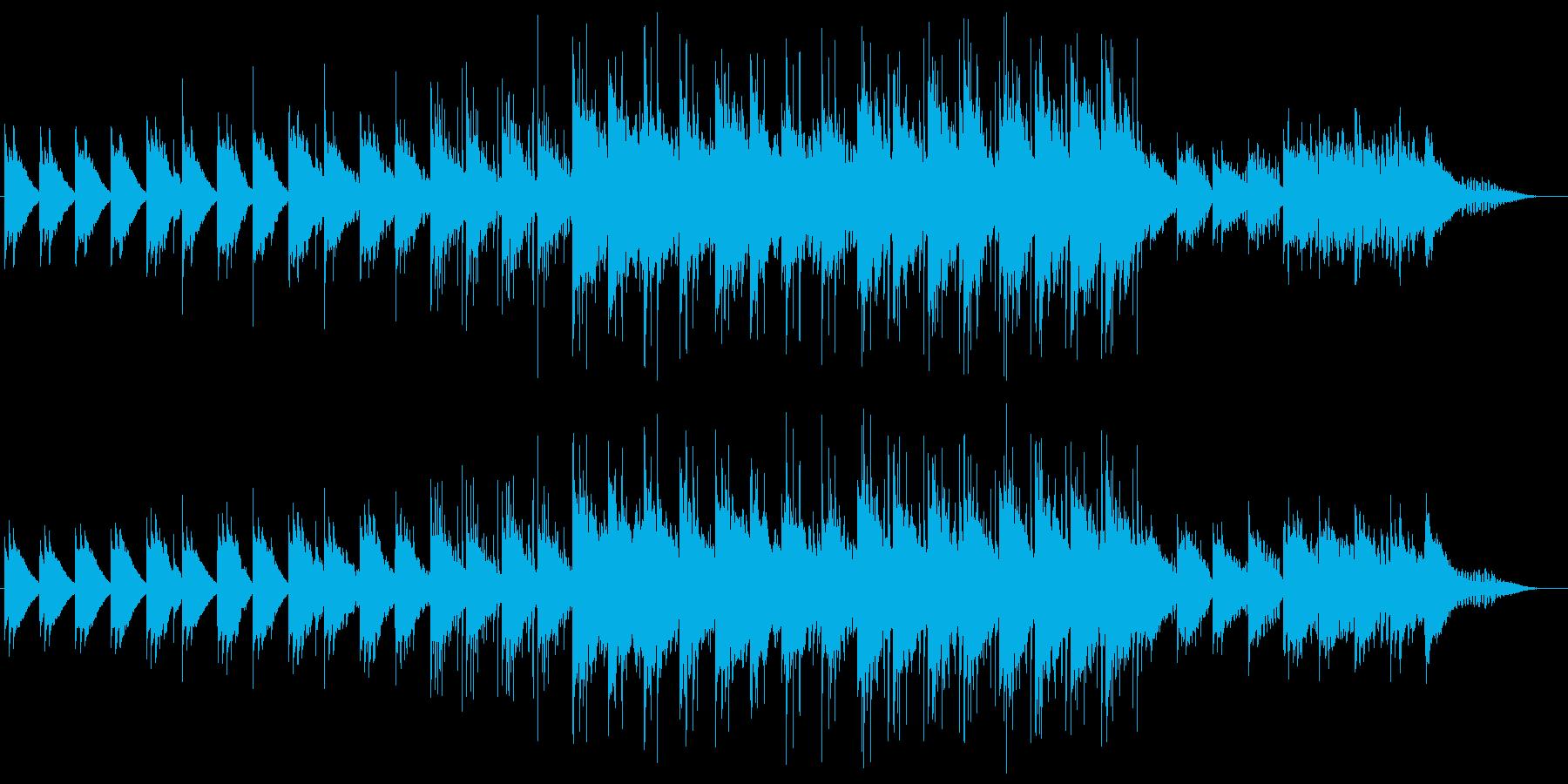 和風 オルゴール ベル 雪エレクトロニカの再生済みの波形