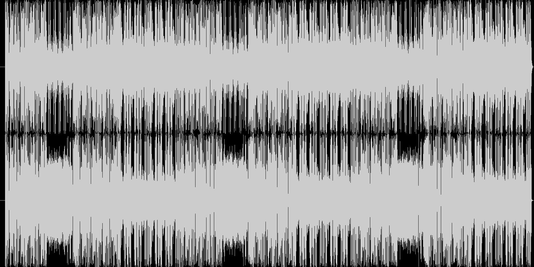 チャイニーズ風。幻想的でスリリングの未再生の波形