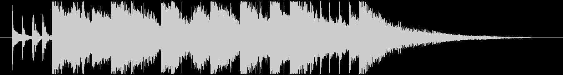 シタールによるインド風妖艶なロゴCの未再生の波形