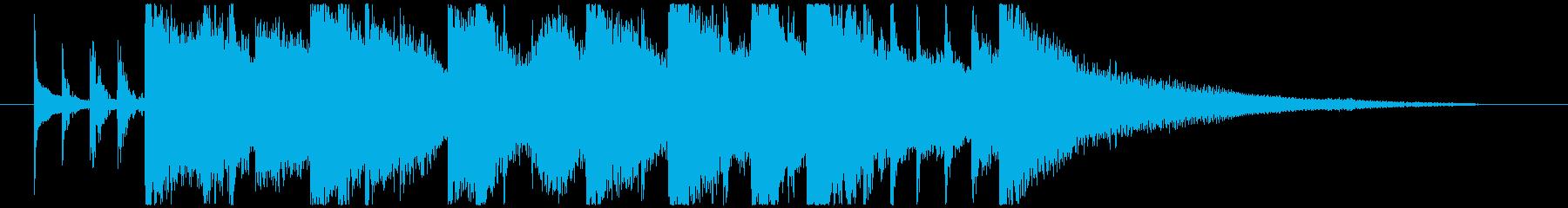 シタールによるインド風妖艶なロゴCの再生済みの波形