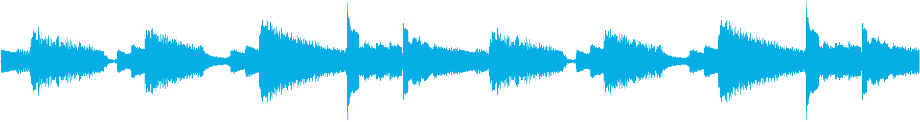 【南国/爽やか/アコースティックギター】の再生済みの波形