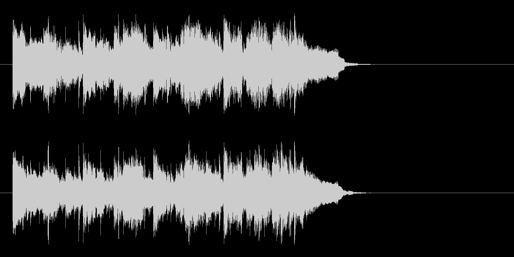 優しいアコースティック(Aメロ)の未再生の波形