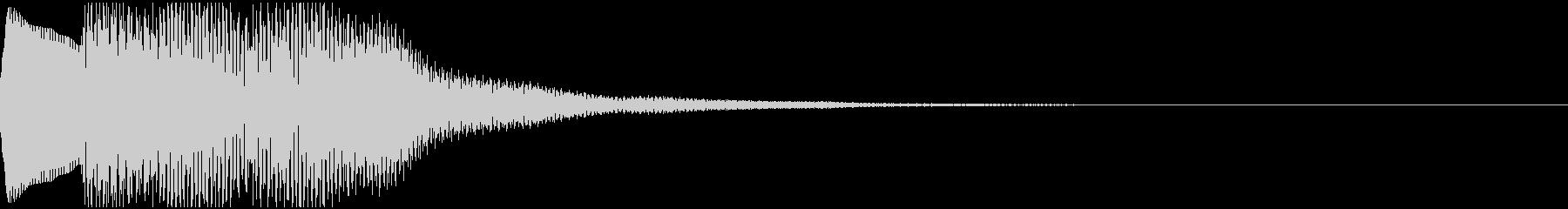 ピポピポン(元気なチャイム音)の未再生の波形