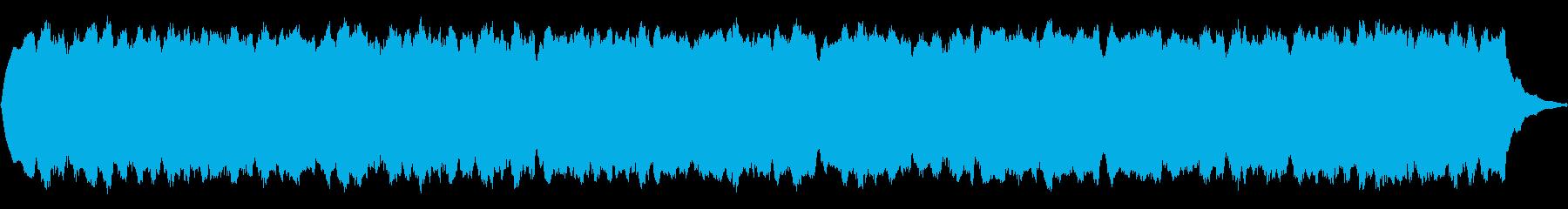 ピーポーピーポー(救急車のサイレン)の再生済みの波形