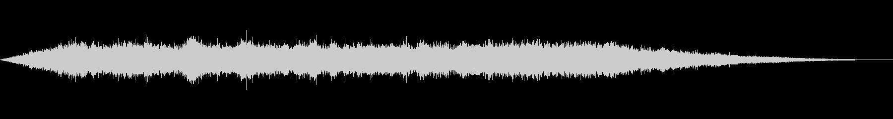海 波 浜辺 海岸 カモメ等の環境音09の未再生の波形