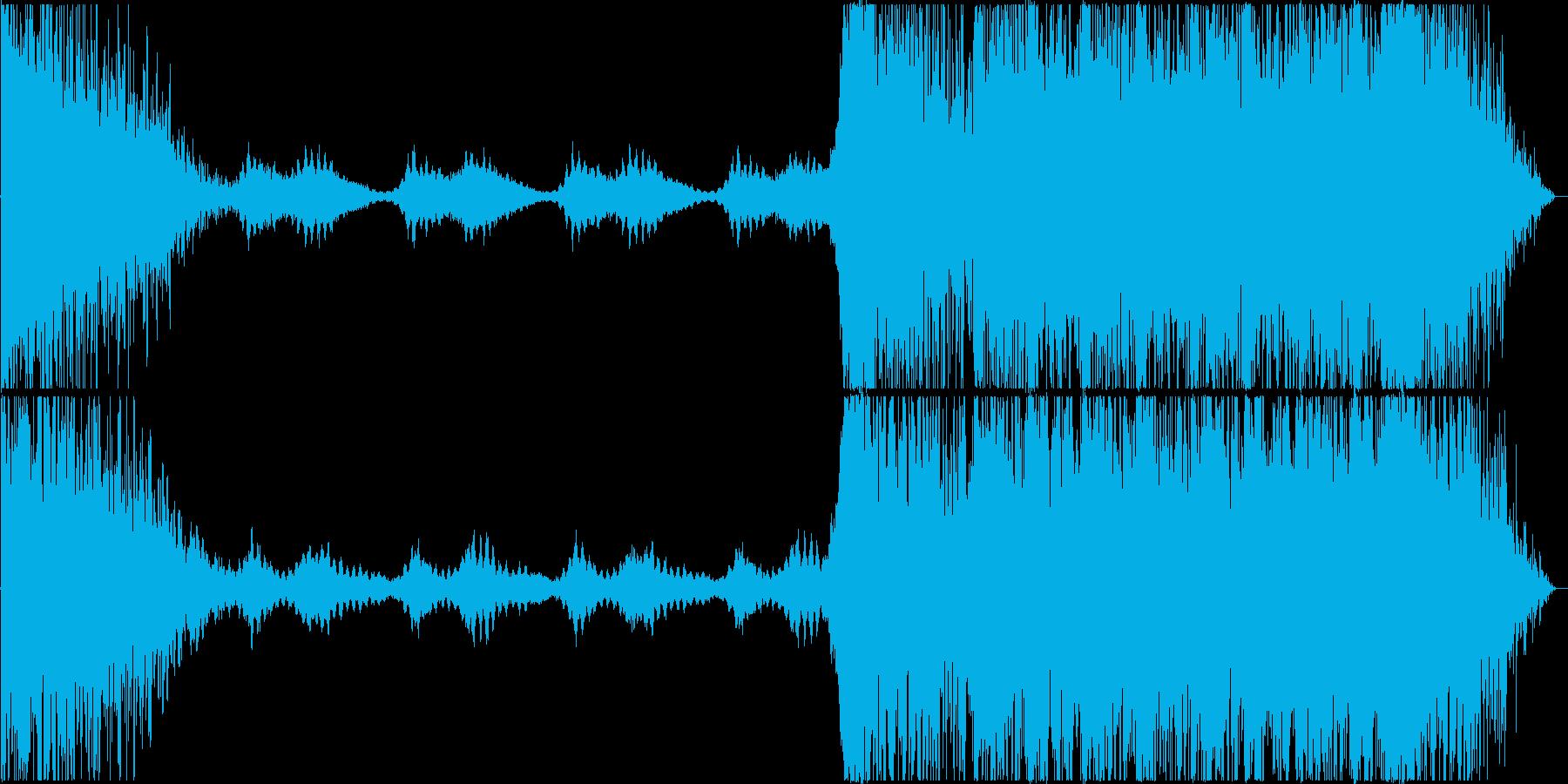トレーラー/予告編 *-怖い-*の再生済みの波形