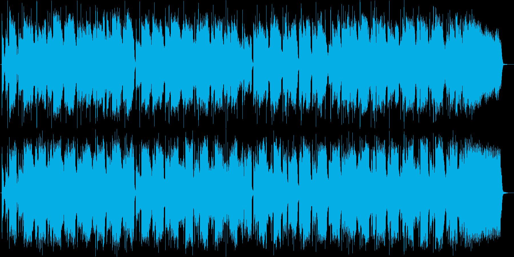 R&Bセッション風 BGMの再生済みの波形