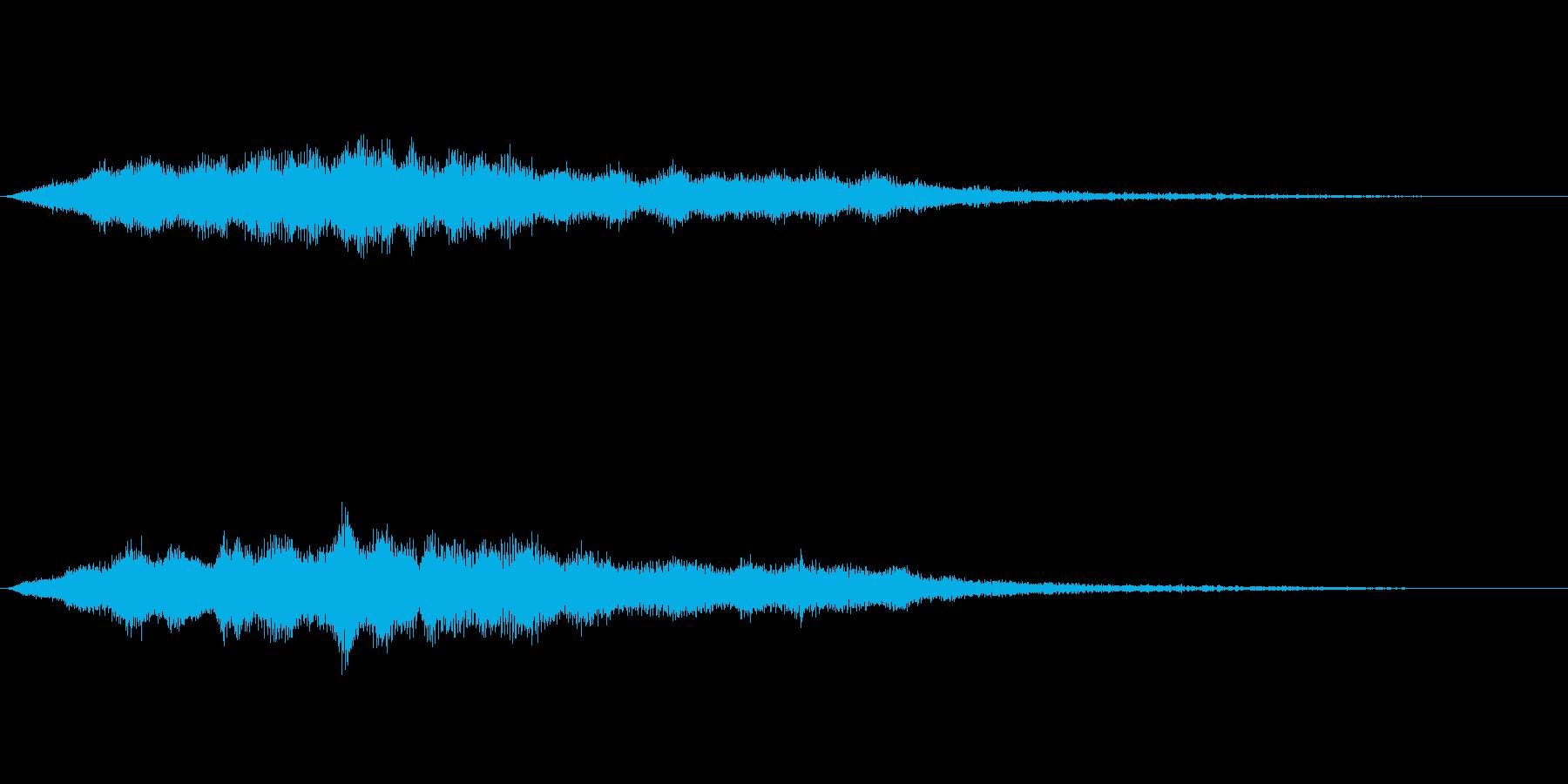 スペイシーな空間音 Fメジャーの再生済みの波形