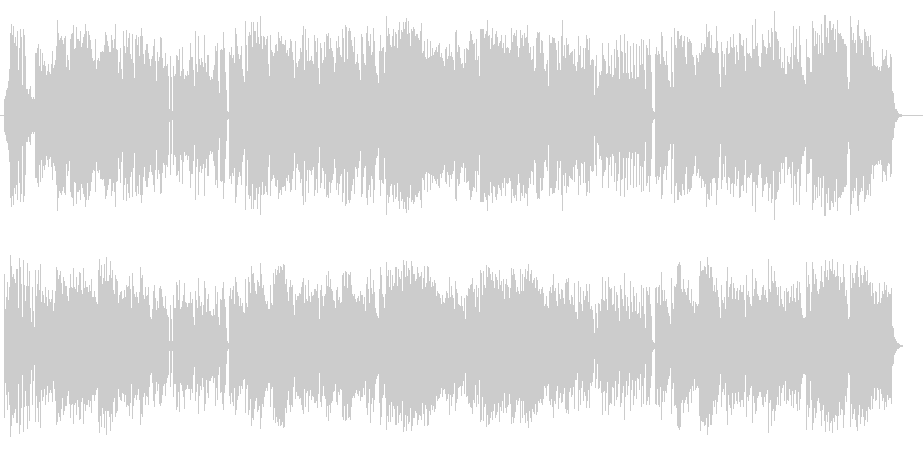 和風の演歌弦管楽器シンセサウンドの未再生の波形