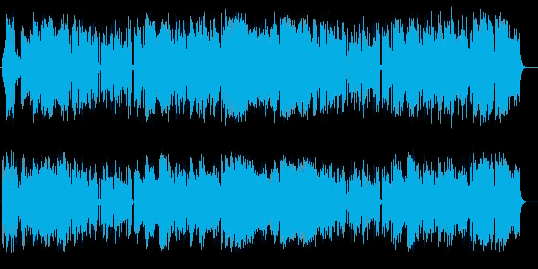 和風の演歌弦管楽器シンセサウンドの再生済みの波形