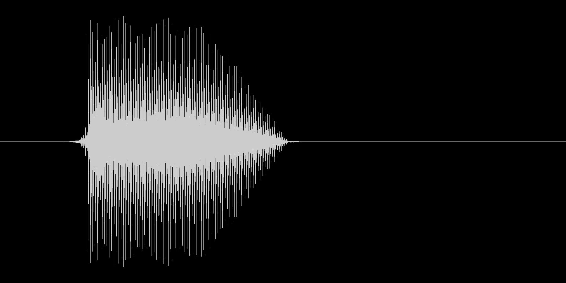 ゲーム(ファミコン風)セレクト音_002の未再生の波形