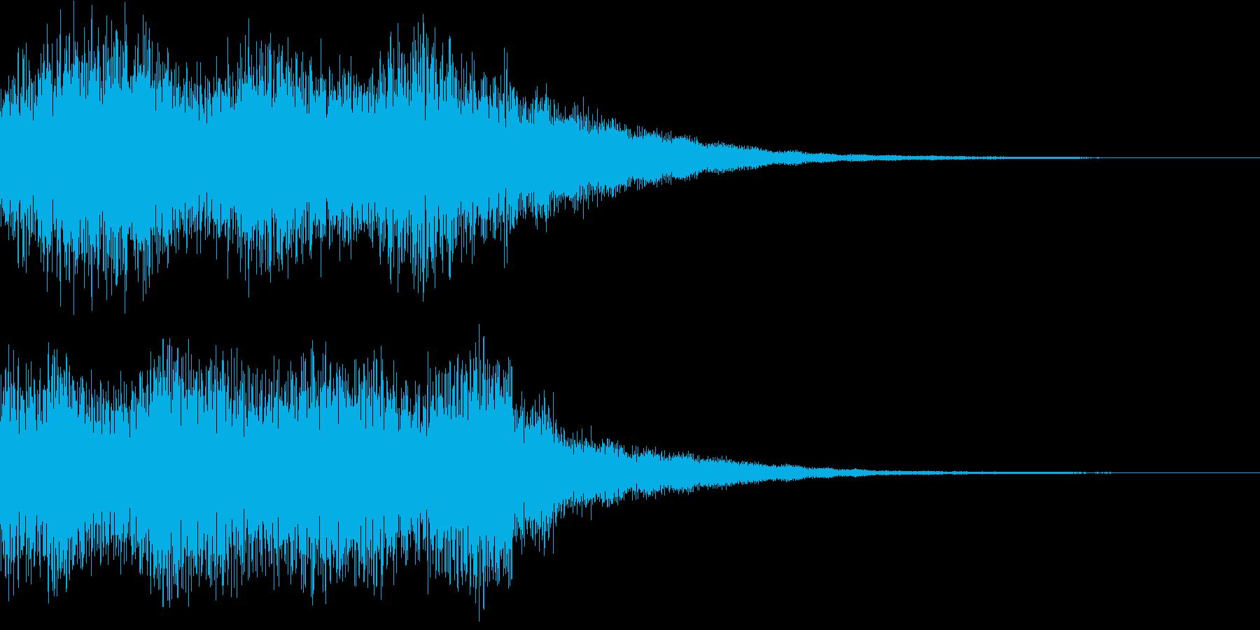効果音  魔法 魔女の再生済みの波形