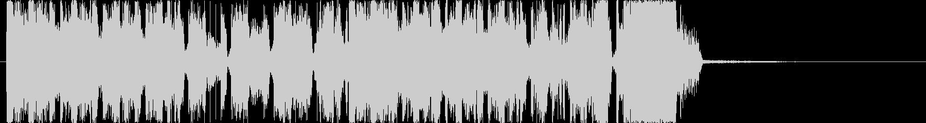 CMやラジオなどのジングルにの未再生の波形