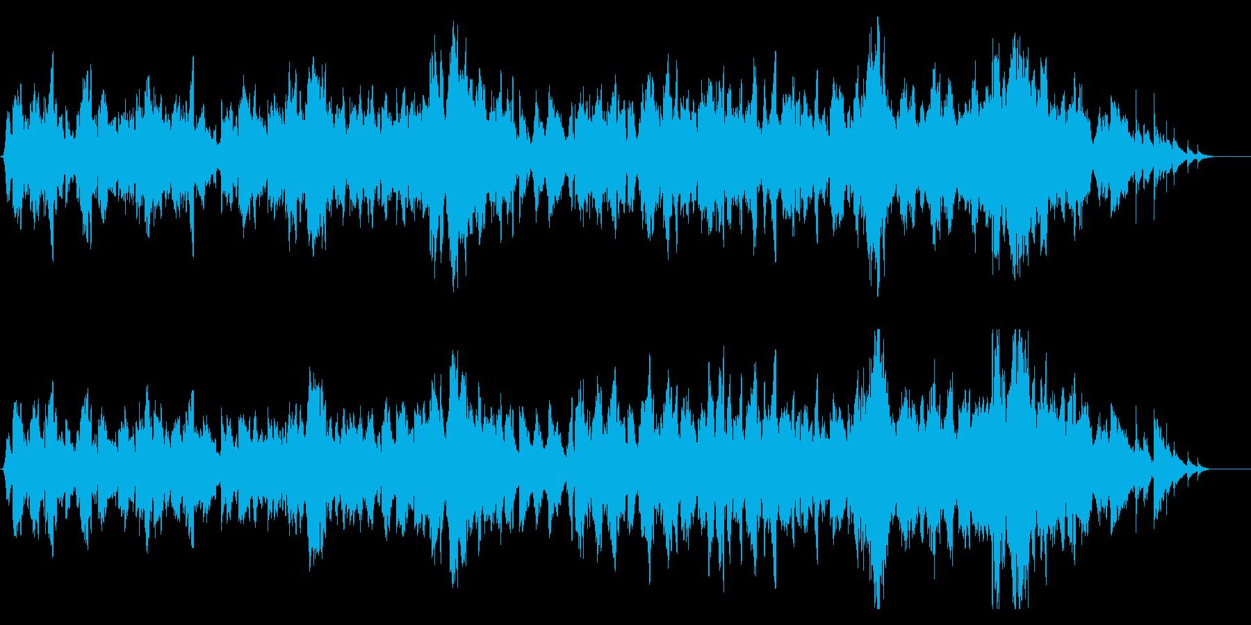 <ほのぼの>アイリッシュハープとフィドルの再生済みの波形