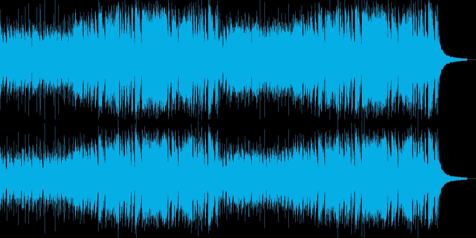 爽やかなポップの再生済みの波形