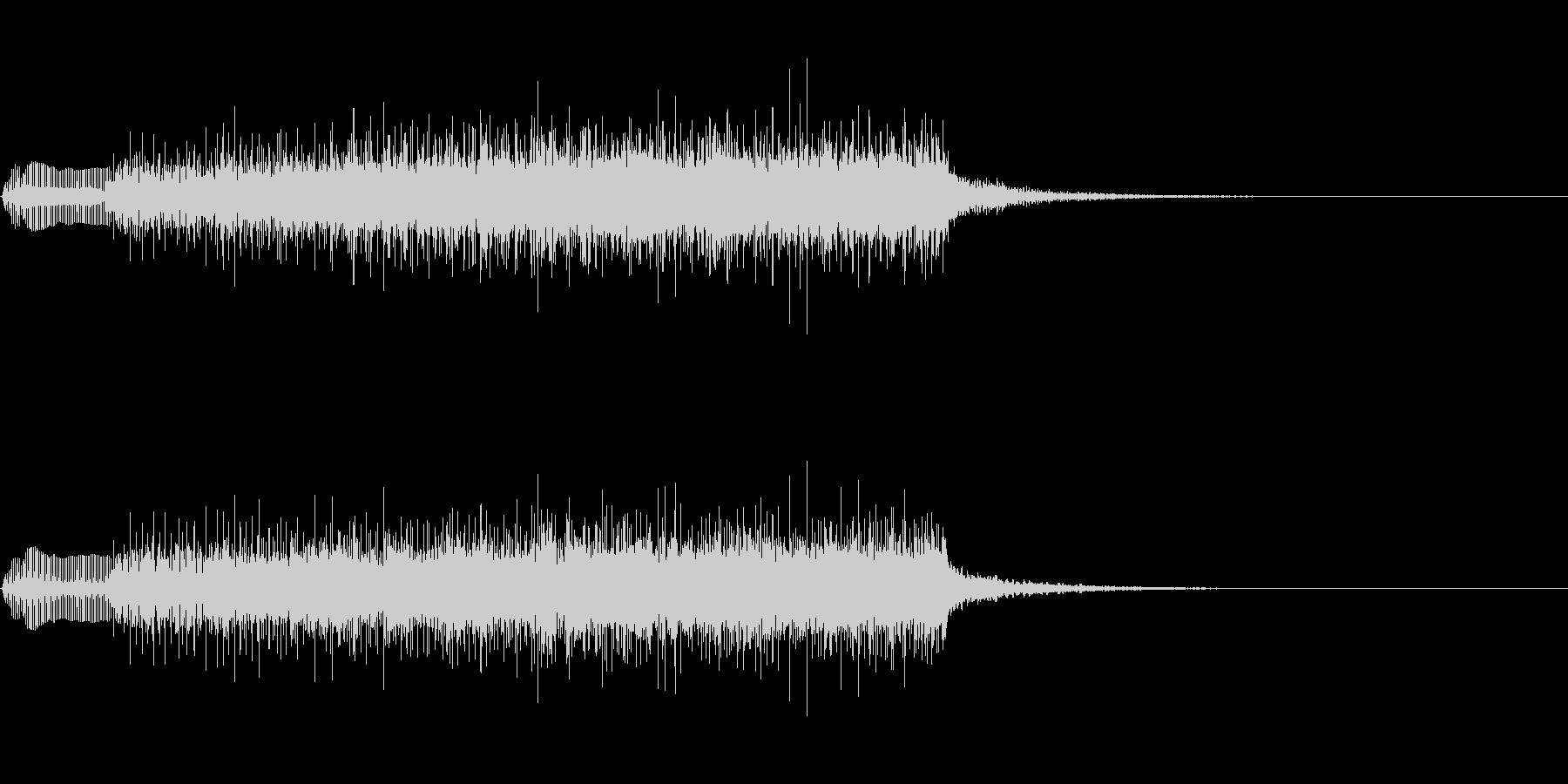 ジングル101lの未再生の波形