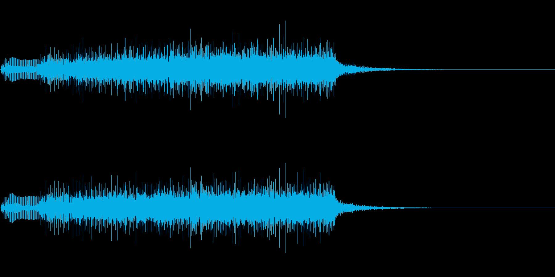 ジングル101lの再生済みの波形
