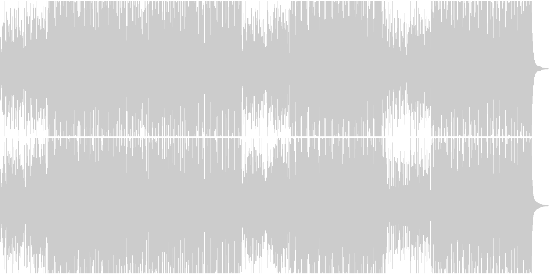 70'ポップで自由なアコースティック楽曲の未再生の波形
