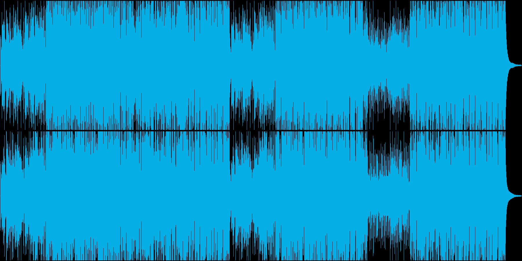 70'ポップで自由なアコースティック楽曲の再生済みの波形