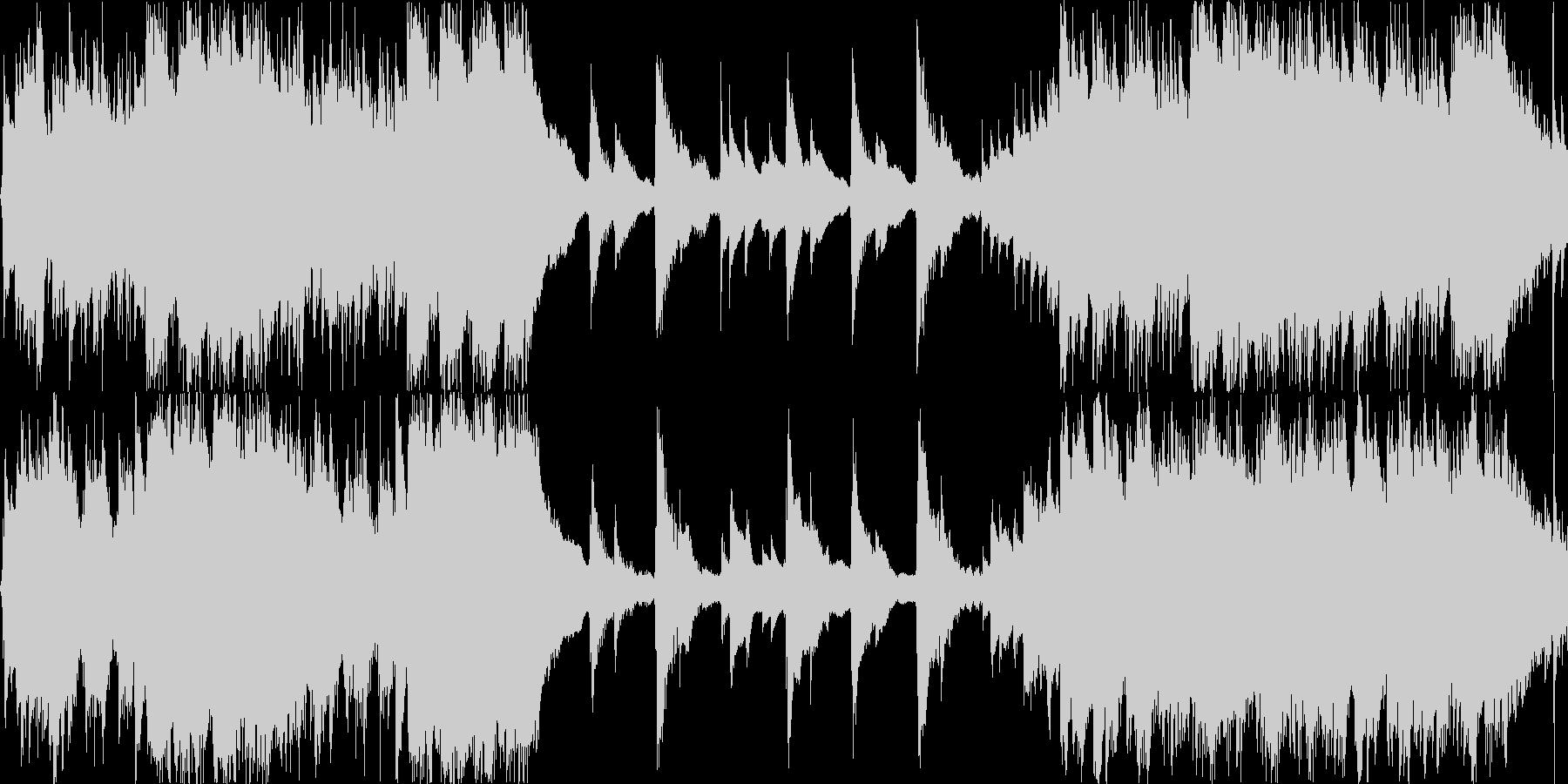 ストロークメインの爽やかなアコギ曲の未再生の波形