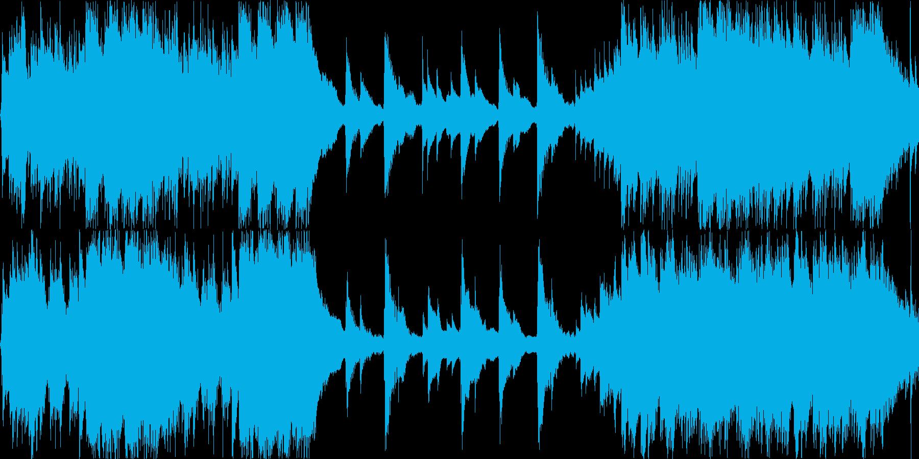 ストロークメインの爽やかなアコギ曲の再生済みの波形