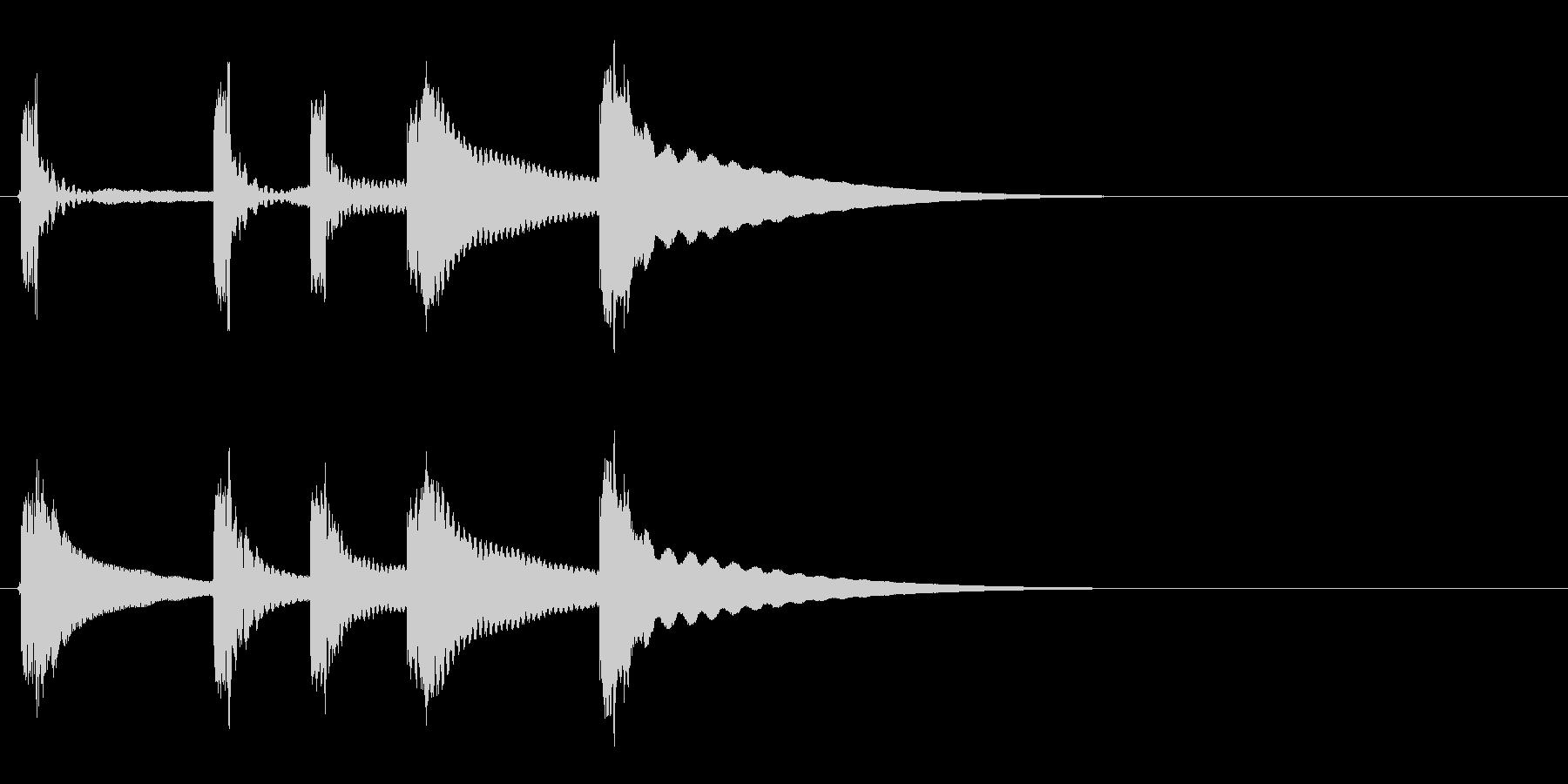 タンタラッタンタン(サウンドロゴ)の未再生の波形