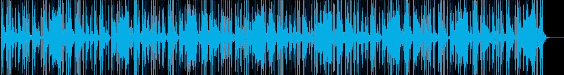 浮遊感のある、ゆったりしたダブの再生済みの波形
