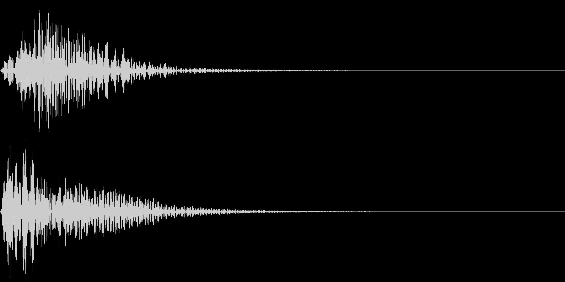 Mononoke もののけ 妖怪 鳴き声の未再生の波形
