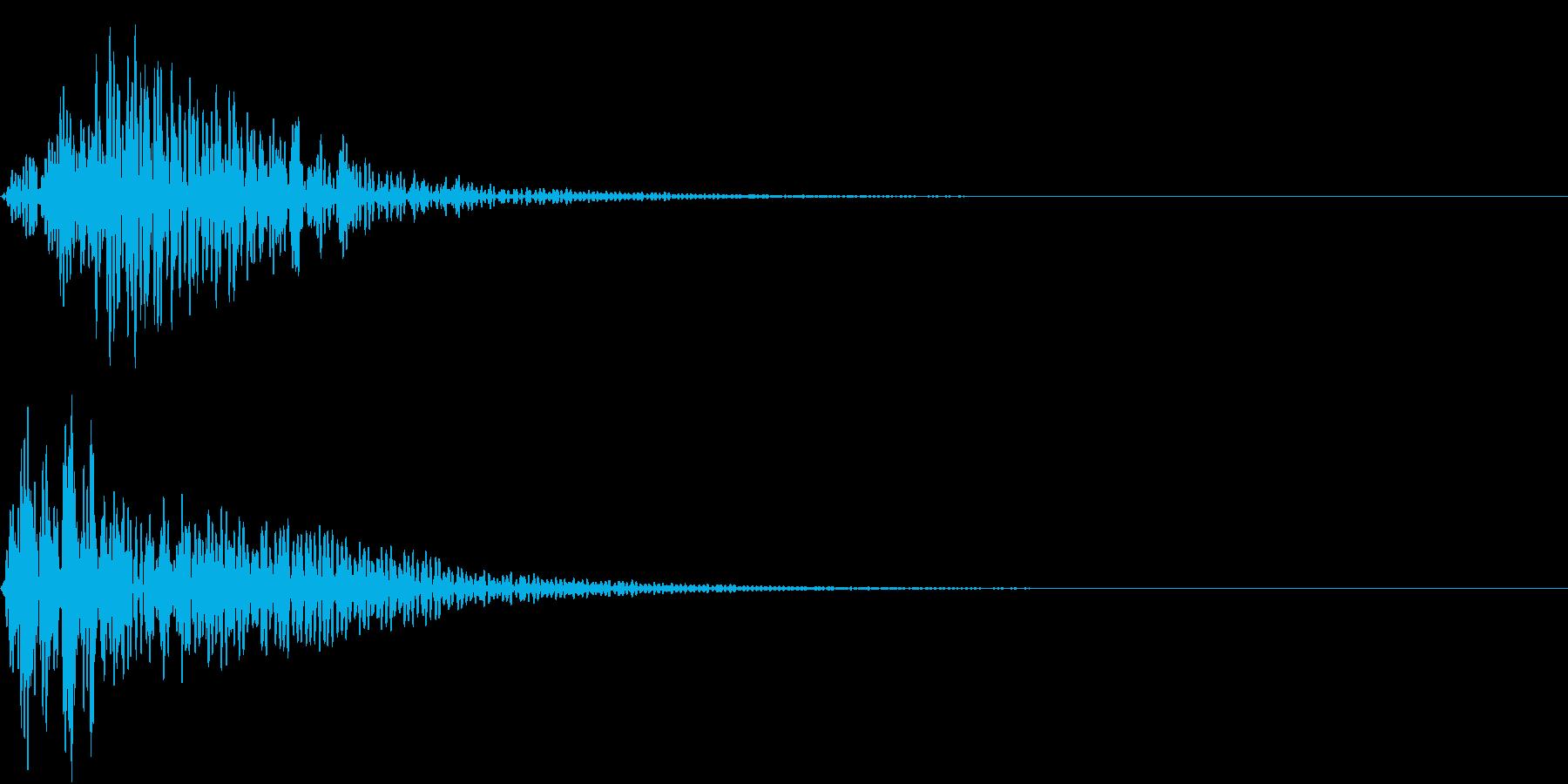 Mononoke もののけ 妖怪 鳴き声の再生済みの波形