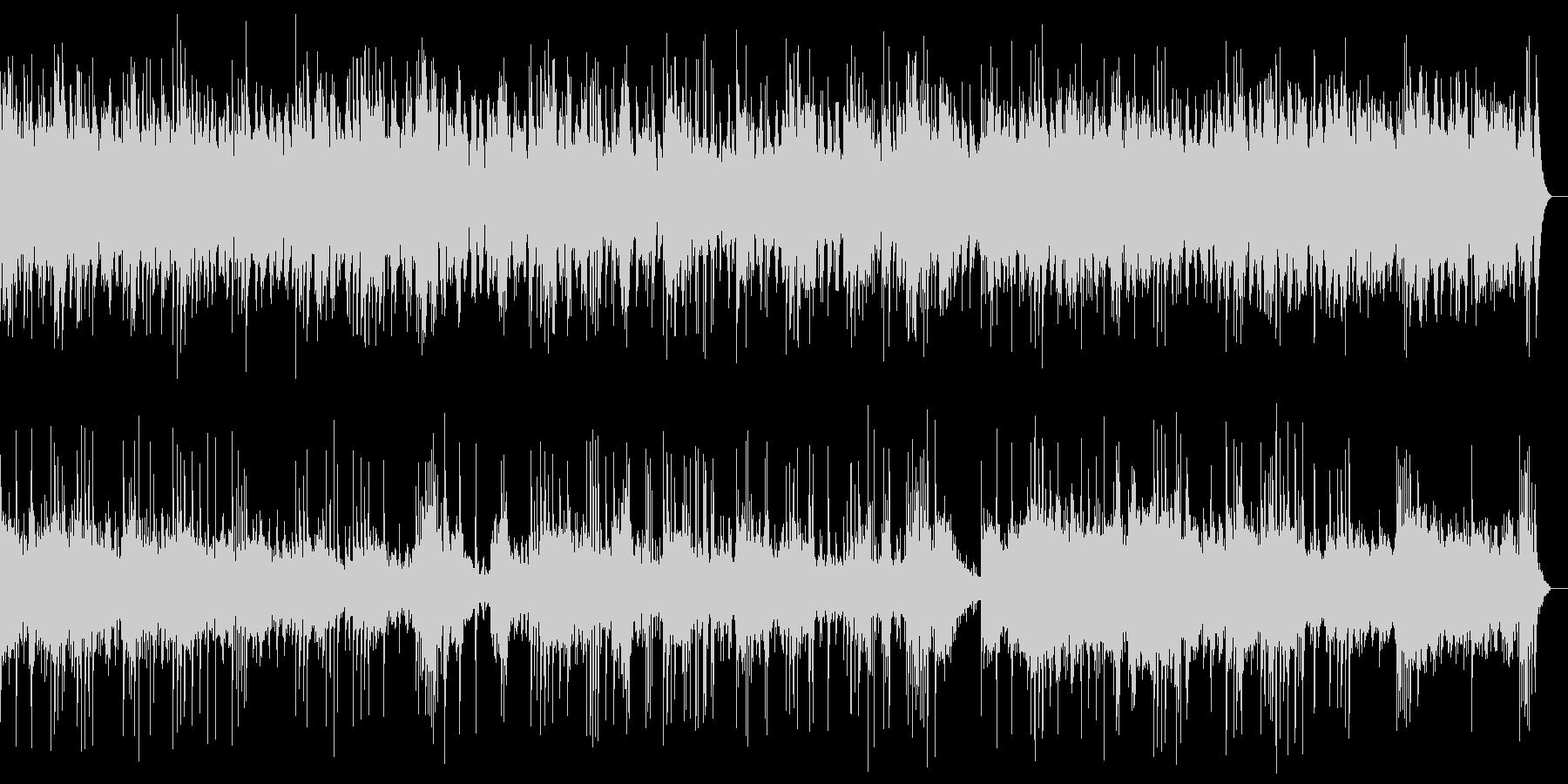 ピアノとシンセのアンビエント_効果音なしの未再生の波形