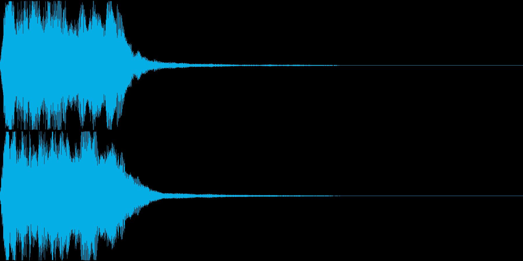 ラッパ ファンファーレ 定番 10の再生済みの波形