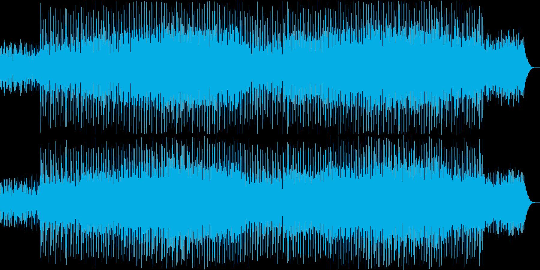 ニュース映像ナレーションバック向け-01の再生済みの波形