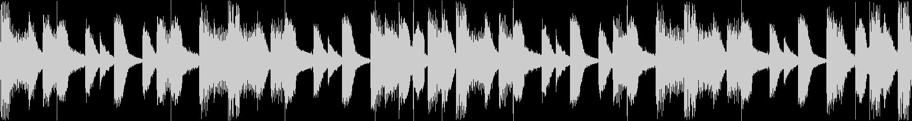 EDMデジタル系のリズムLoopの未再生の波形