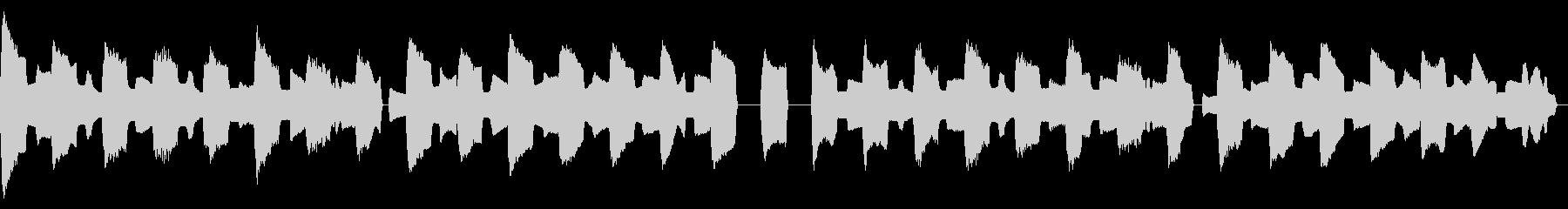 ピタゴラスイッチ風リコーダーカルテットの未再生の波形