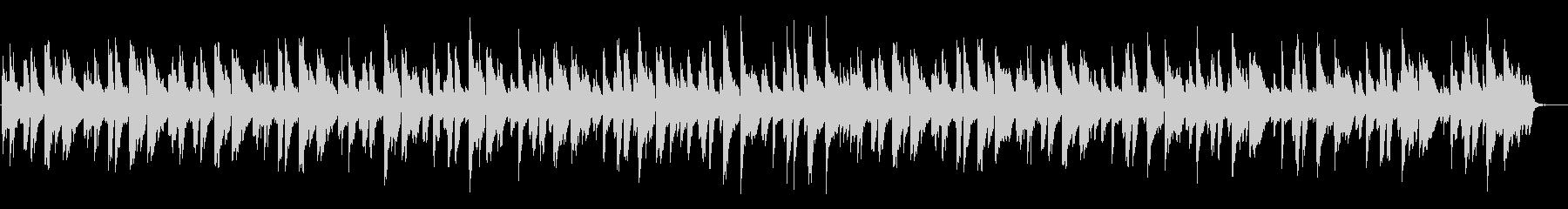 ピアノインスト:ジャジー、おしゃれの未再生の波形