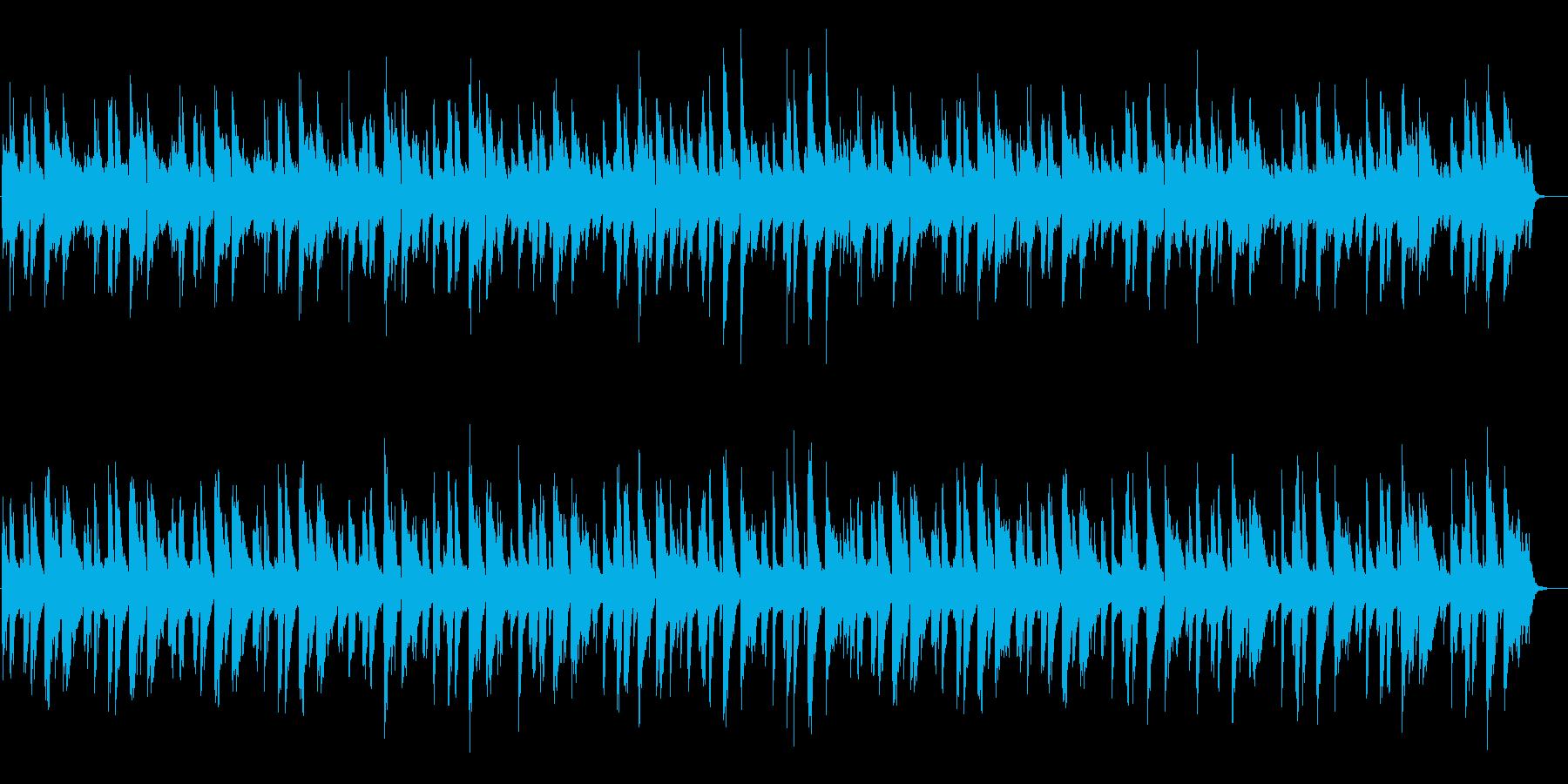 ピアノインスト:ジャジー、おしゃれの再生済みの波形